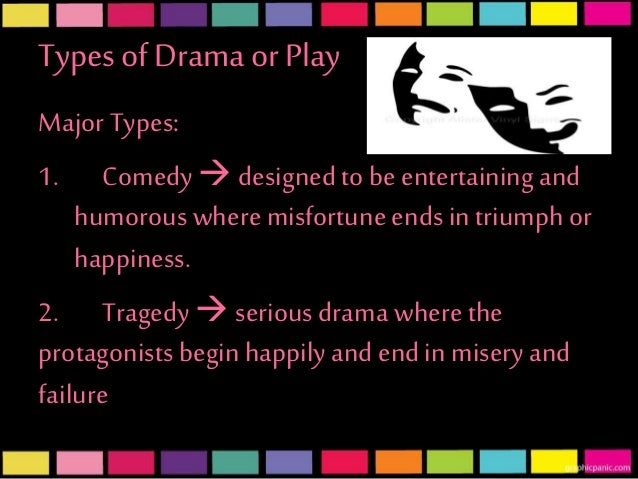 Drama history types and subtypes for Farcical comedy meaning in urdu