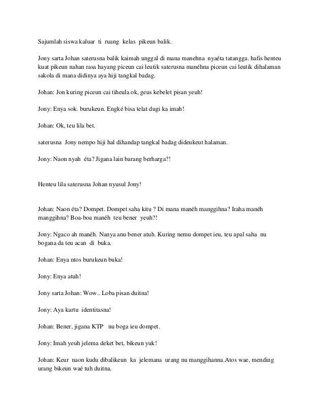 Contoh Naskah Drama Komedi 6 Orang Persahabatan Just4udakar Com