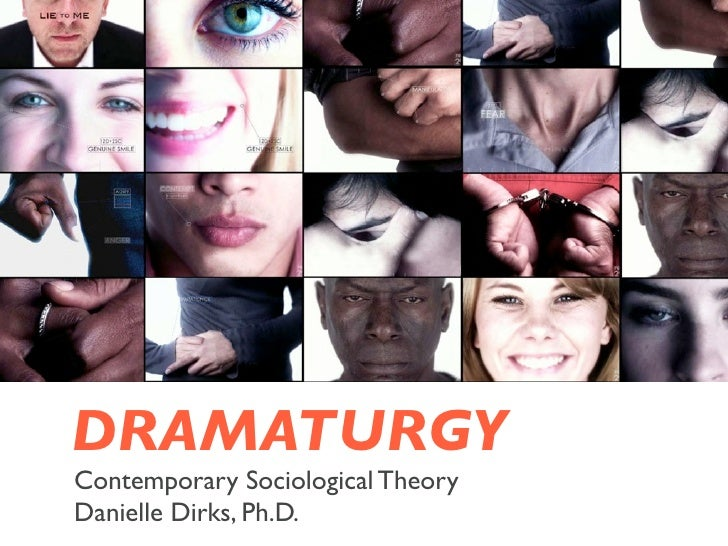 DRAMATURGYContemporary Sociological TheoryDanielle Dirks, Ph.D.