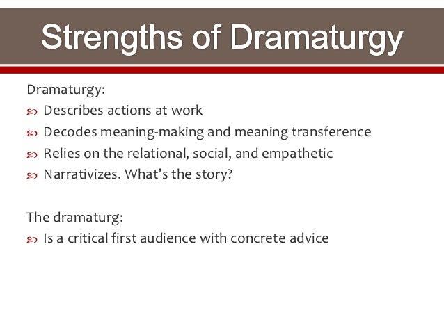 Homework for you Essay Dramaturgy Essay Examples