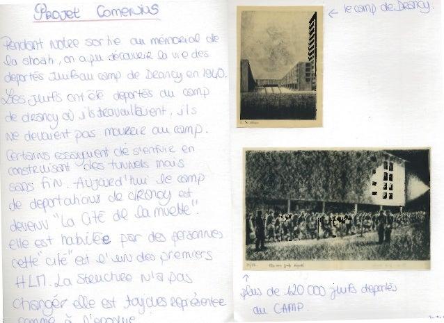 Mémorial de la Shoah  Le Mardi 14 janvier nous avons visité le Mémorial de la déportation et le conservatoire historique d...