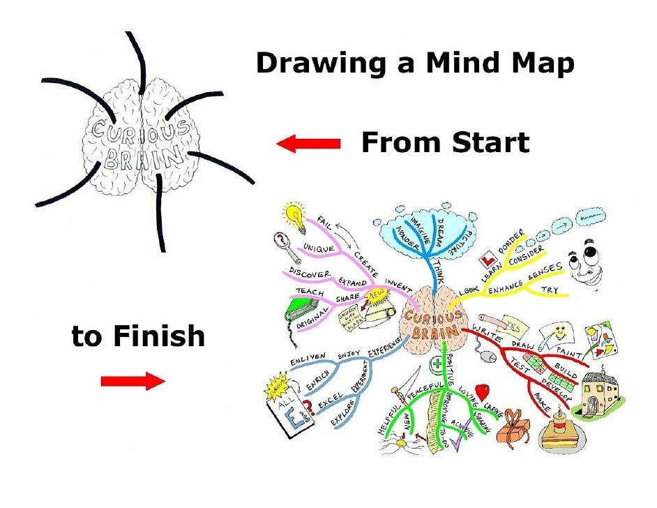 """As the subject matter for this Mind Map I decide to investigate what a """"Curious Brain"""" is and how it could impact continua..."""