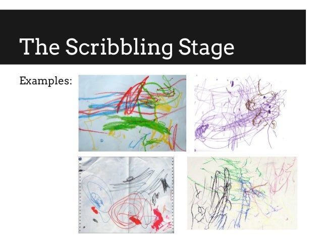 Scribble Stage Of Drawing : Drawing development