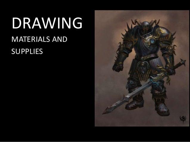 Drawing Materials (Drawing 2)