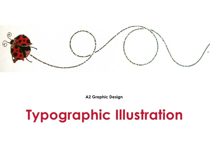 Typographic Illustration A2 Graphic Design