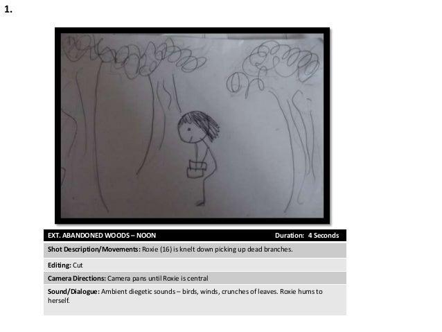 Hand Drawn Story Board