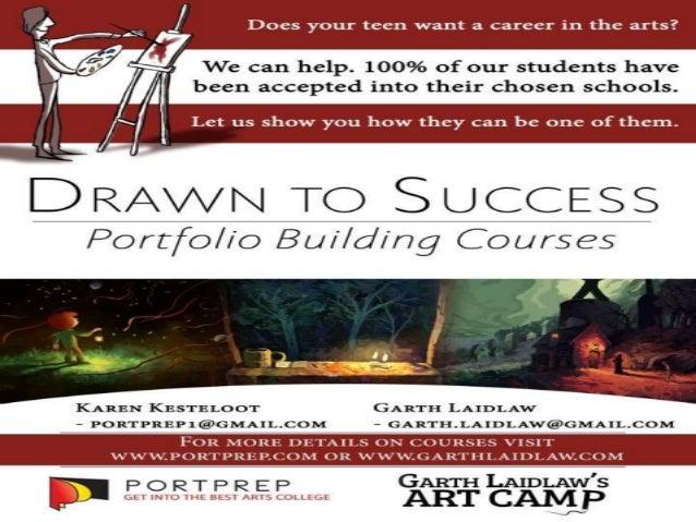 Drawn to Success Portfolio Building Boot Camp