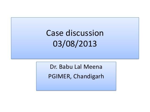 hiv case study presentation