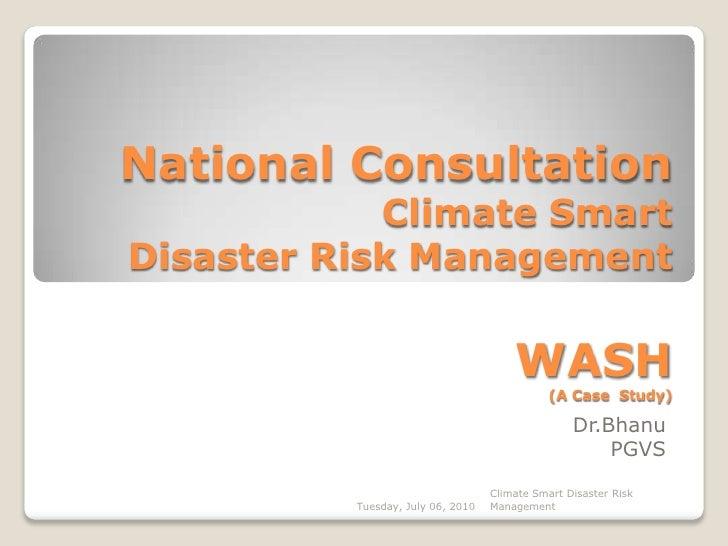 India - community case study- WASH