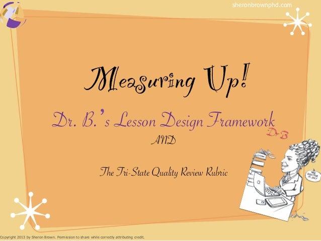 sheronbrownphd.com                                                  Measuring Up!!                               Dr. B. s ...