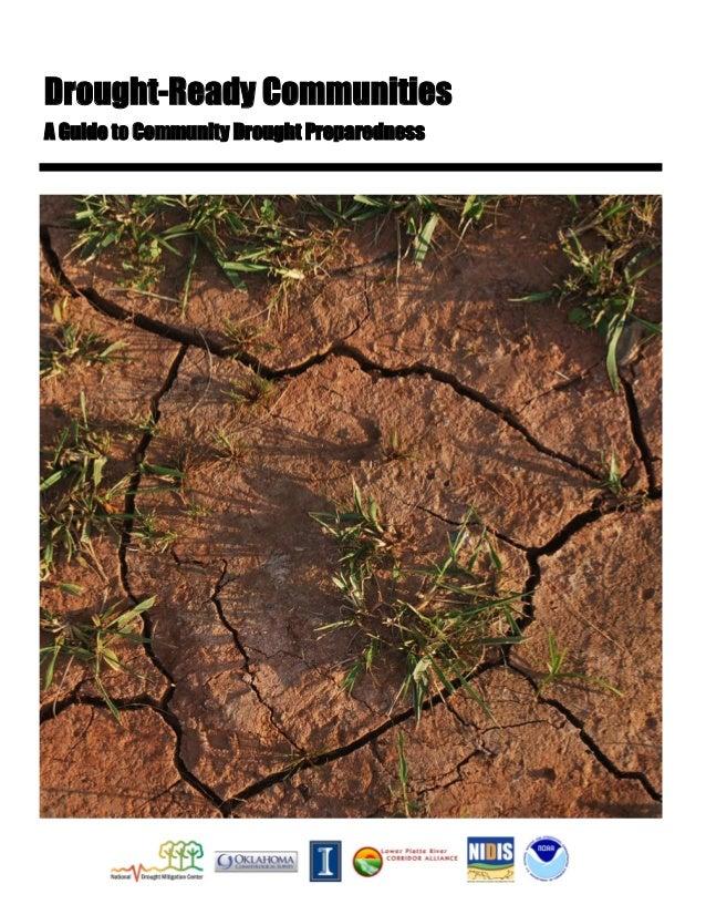 Drought-Ready Communities: A Guide to Community Drought Preparedness - University of Nebraska