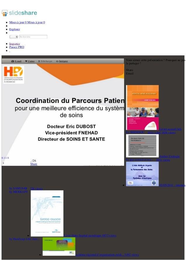 Dr dubost coordination du parcours patient