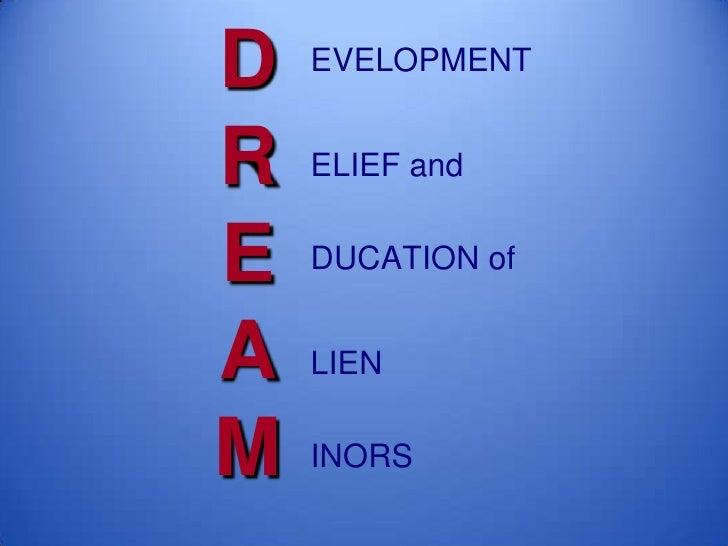 Dream act slideshow