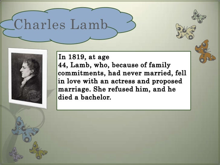 dream children by charles lamb essays