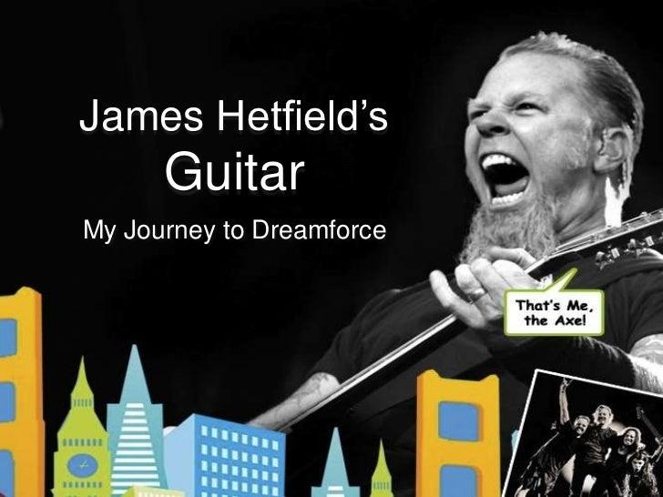 My Journey to Dreamforce - Metallica Axe