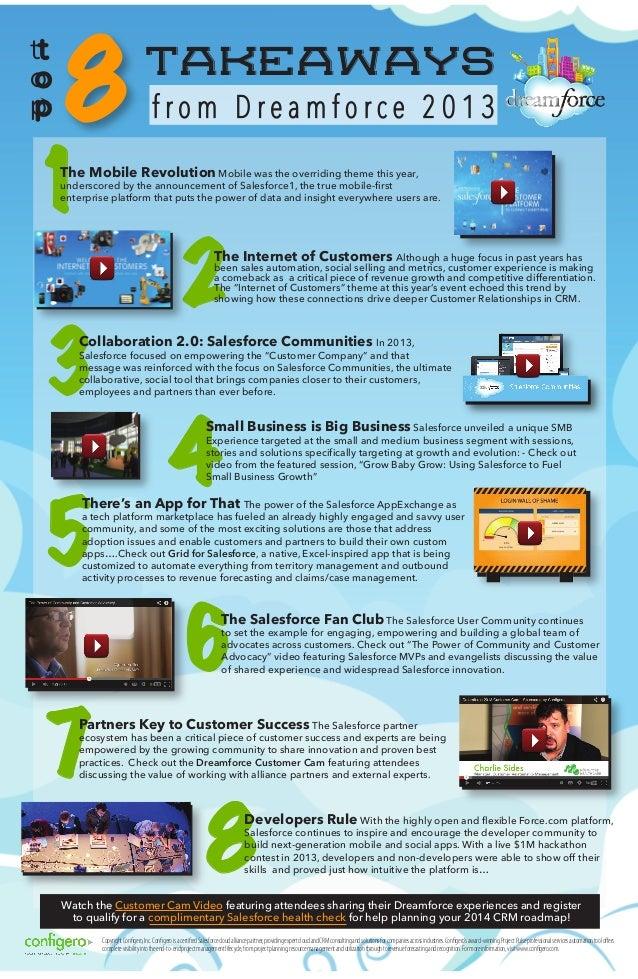 Top 8 Takeaways from Dreamforce 2013