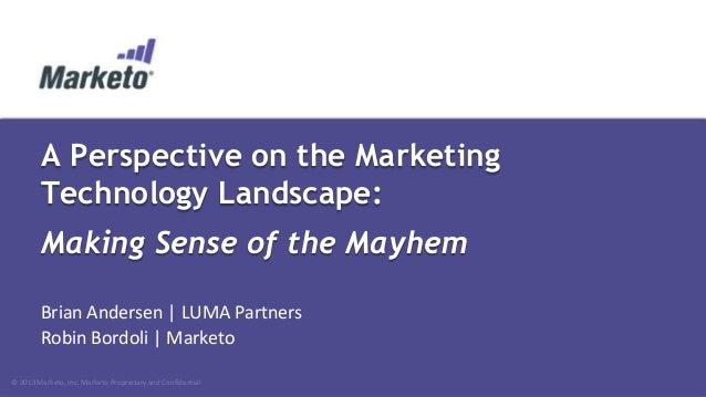 Dreamforce 2013 Marketing Technology Landscape