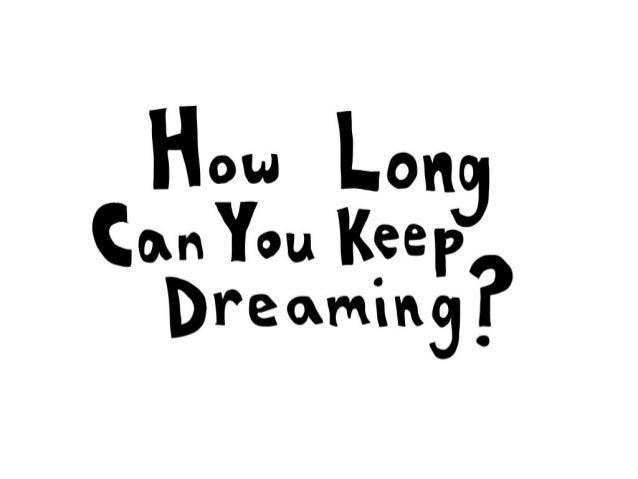 Dreaming comic strip