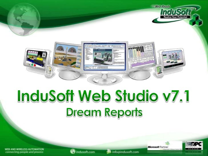InduSoft Web Studio e Dream Report
