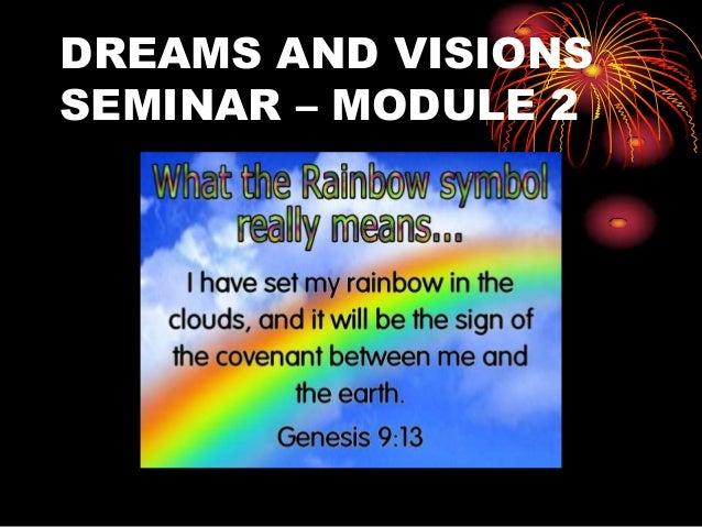 DREAMS AND VISIONSSEMINAR – MODULE 2