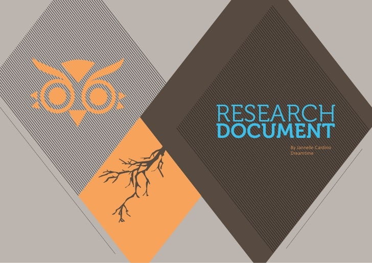 RESEARCHDOCUMENT     By Jannelle Cardino     Dreamtime