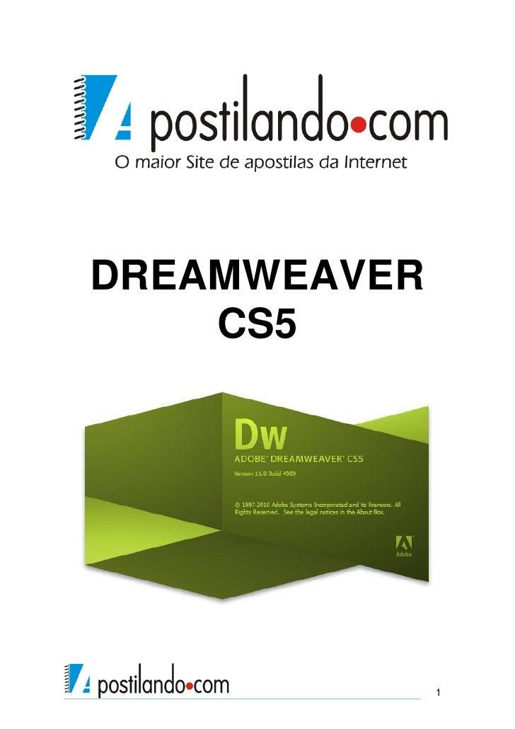 Dreamweaver cs5   apostila dreamweaver cs5 apostilando.com