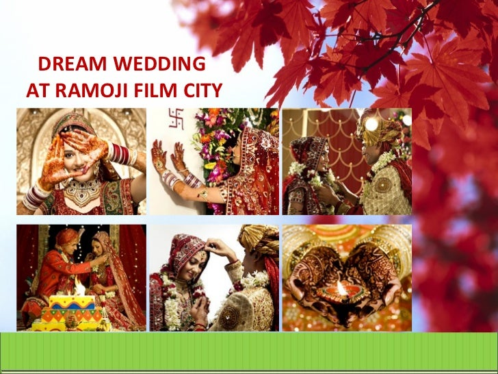 Dream wedding at Ramoji Film City