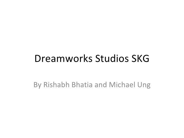 Dreamworks Studios Skg