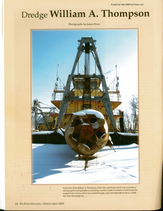 Dredge Thompson Photos from Big River Magazine