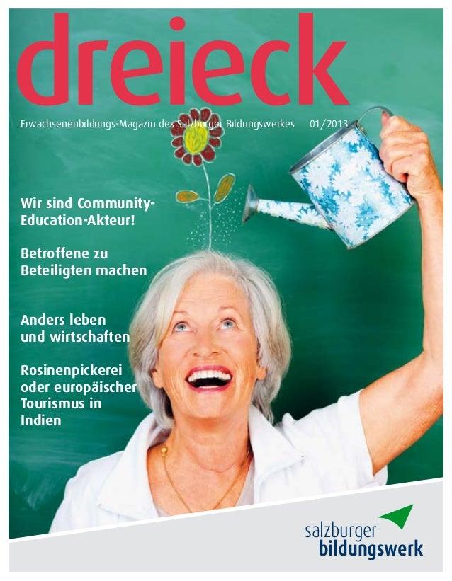 Wir sind Community-Education-Akteur!Betroffene zuBeteiligten machenAnders lebenund wirtschaftenRosinenpickereioder europäi...