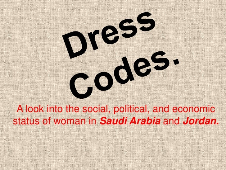 A look into the social, political, and economicstatus of woman in Saudi Arabia and Jordan.