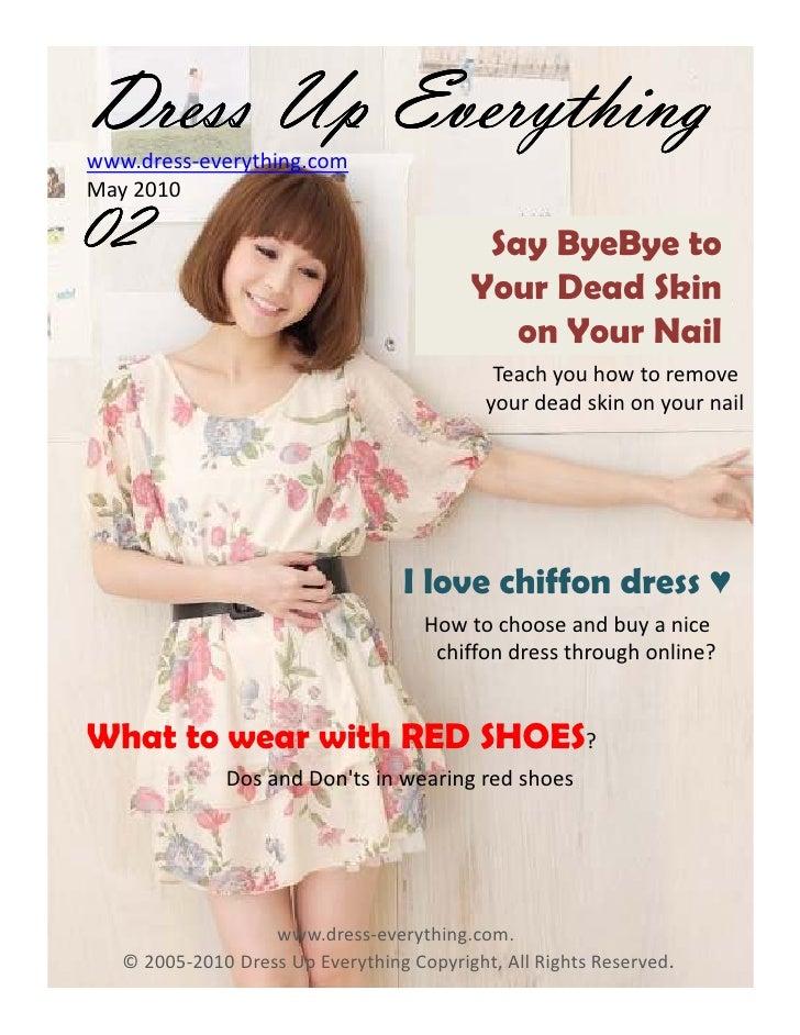Dress Up Everything Fashion Magazine MAY 2010