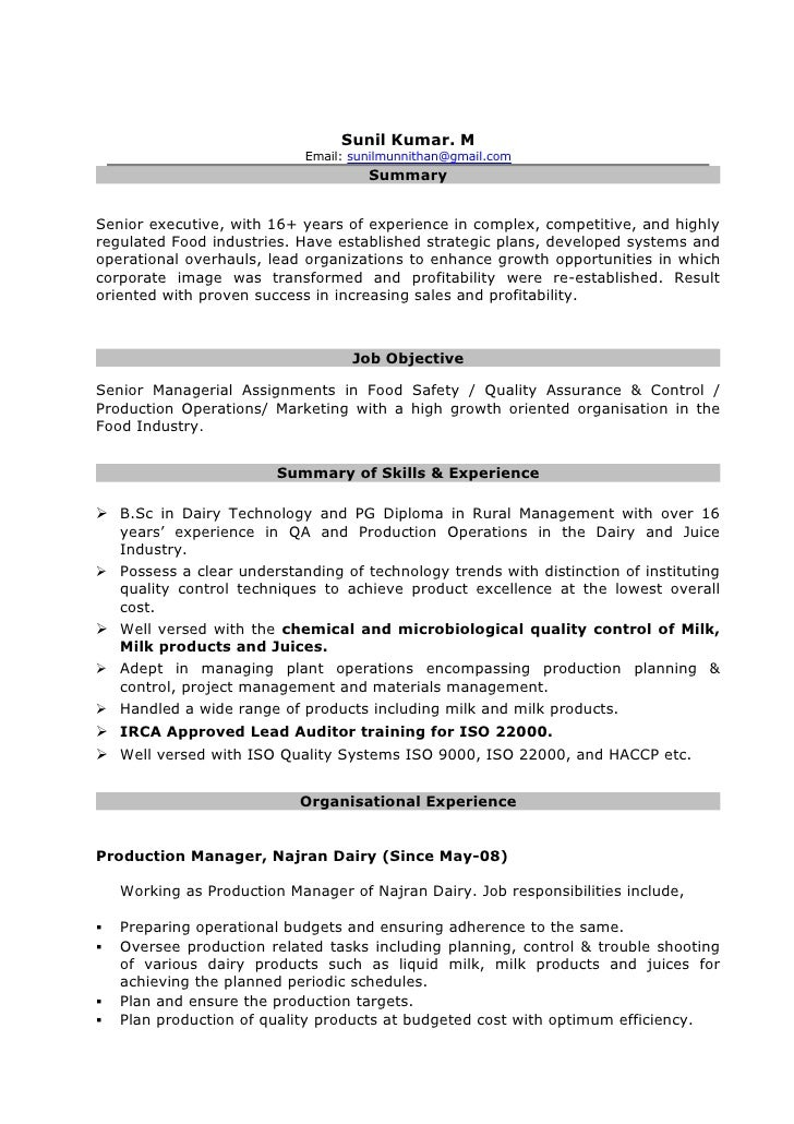 Resume For Iso Auditor | Resumes