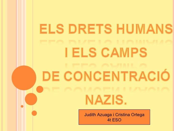Drets humans i camps de concentració