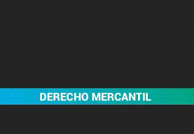 Derecho Mercantil - apuntes