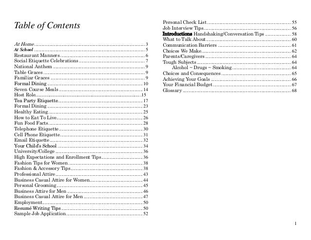 Table of Contents At Home .............................................................................................. 3...