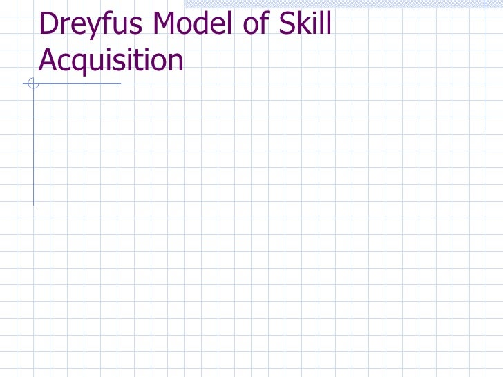 Dreyfus Model Of Skills Acquisition