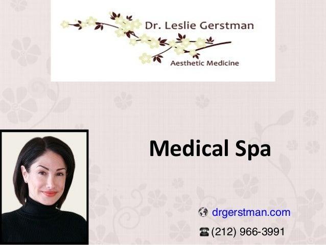 Medical Spa drgerstman.com (212) 966-3991
