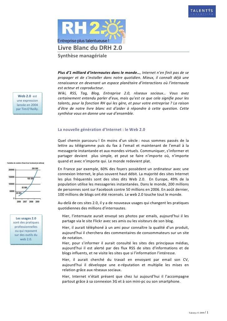 Drh20partalentyssynthese Manageriale