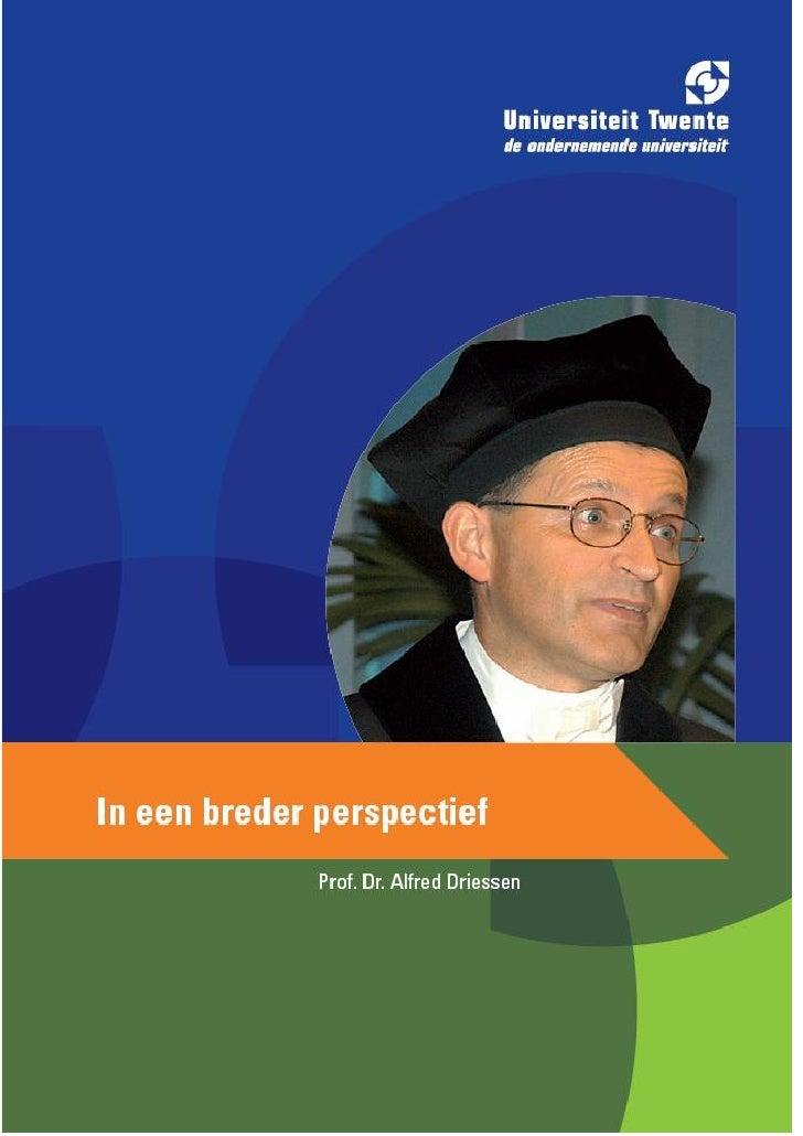 Driessen Rede 2008