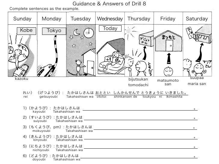 Drill8 guidance