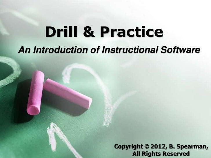 Drill & practice