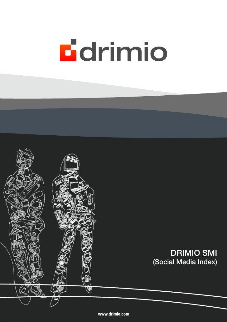Drimio Social Media Index (SMI)