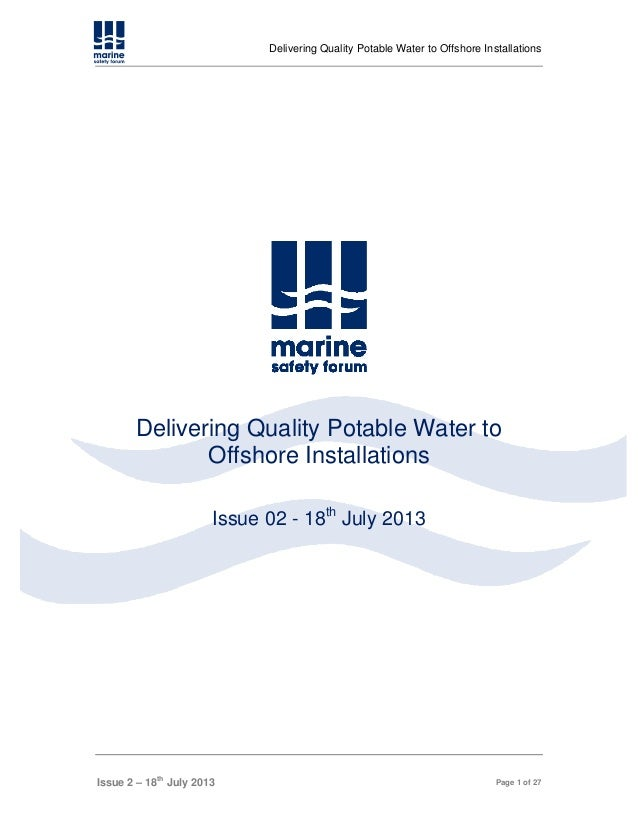 Drinking water   guidelines 2