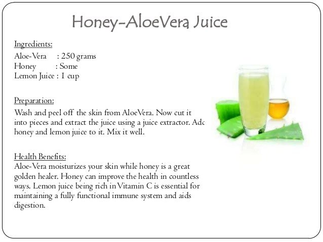 Benefits Of Drinking Aloe Vera For Weight Loss