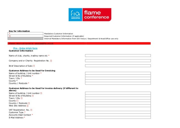 Key for information*                                   Mandatory Customer Information[]                                  R...