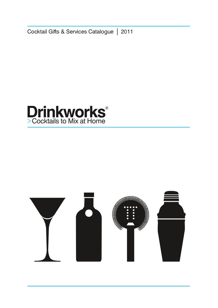 Drinkworks Catalogue 2011