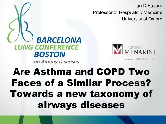 Are Asthma and COPD Two Faces of a Similar Process? Towards a new taxonomy of airways diseases