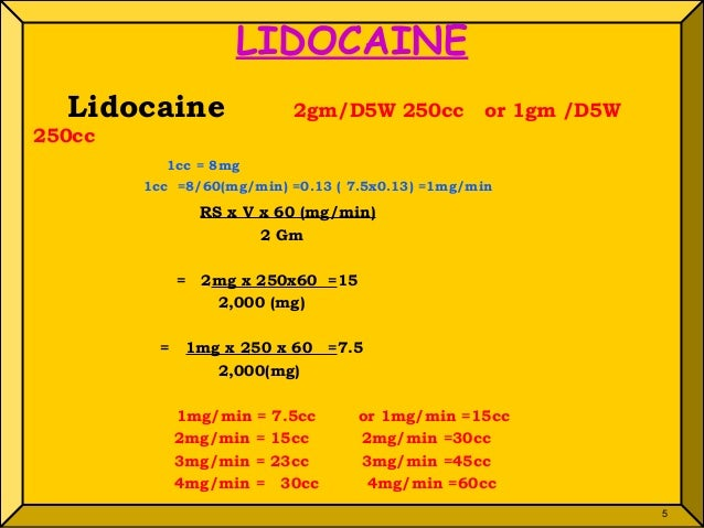 are lidocaine and xylocaine the same