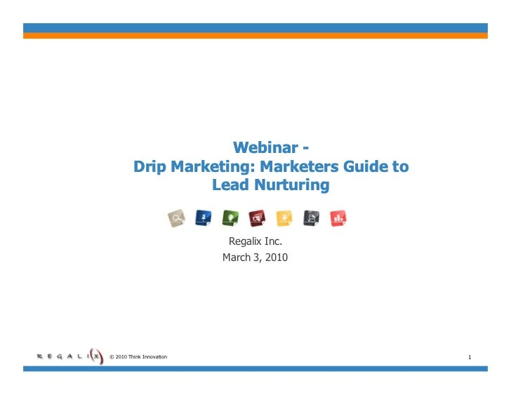 Drip Marketing: Marketers Guide to Lead Nurturing